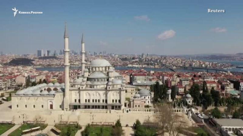Турция: из-за коронавируса приостановлены массовые молитвы в мечетях