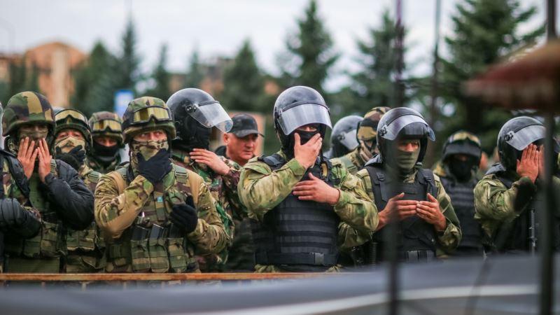 В Ингушетии полиция разогнала собрание вынужденных переселенцев из Чечни