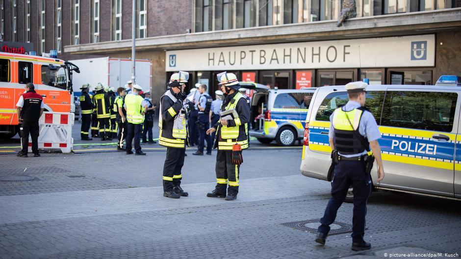 Вокзал Дюссельдорфа оцеплен из-за попытки поджога