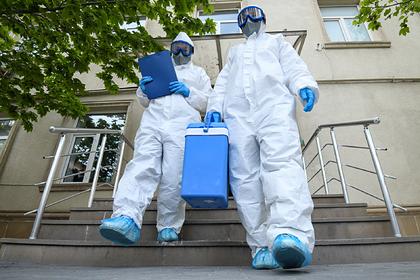 Опубликованы данные по заразившимся коронавирусом на утро 1 августа