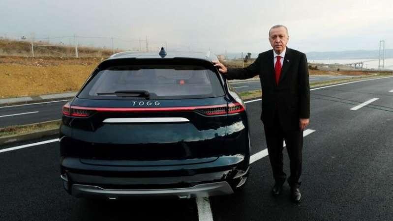 Определена дата начала поставок турецких электрокаров Togg в Европу