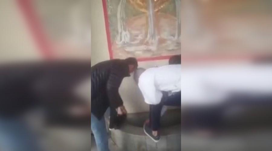 «Нелюдь без религии и национальности»: Кадыров прокомментировал инцидент с мытьем обуви в православном источнике