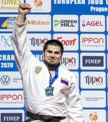 Дзюдоист из ЧР завоевал золотую медаль на чемпионате Европы