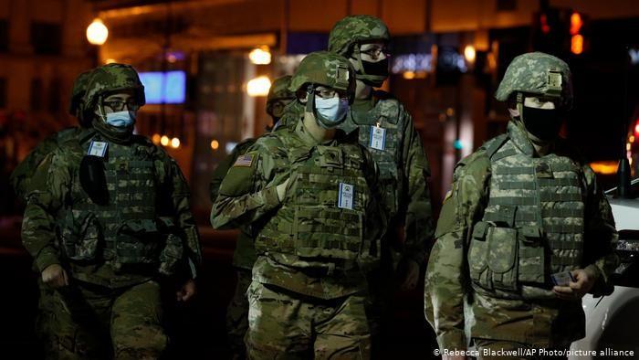 Коронавирус: заражены более 150 служащих Национальной гвардии США