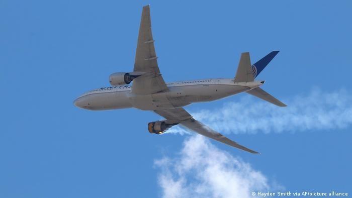 В США проверят Boeing 777 после инцидента с двигателем
