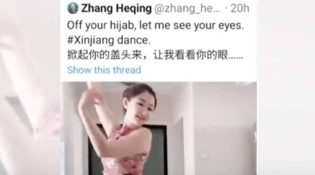 Китайский дипломат покусился на чистоту хиджаба