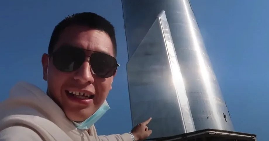 Блогер проник насекретную территорию SpaceX иснял оттуда видео