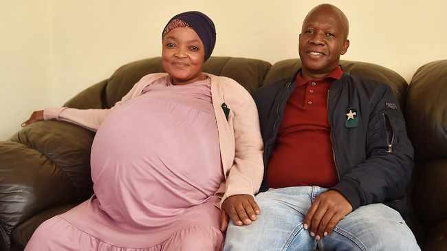 Женщина из ЮАР побила рекорд, родив десять детей