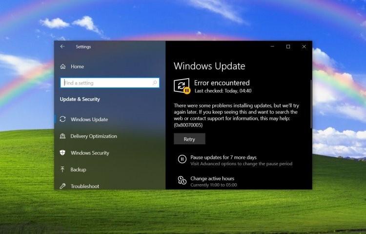 Обновление Windows 10 нарушает работоспособность панели задач и принтеров