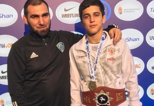 Чеченский борец стал лучшим на первенстве мира