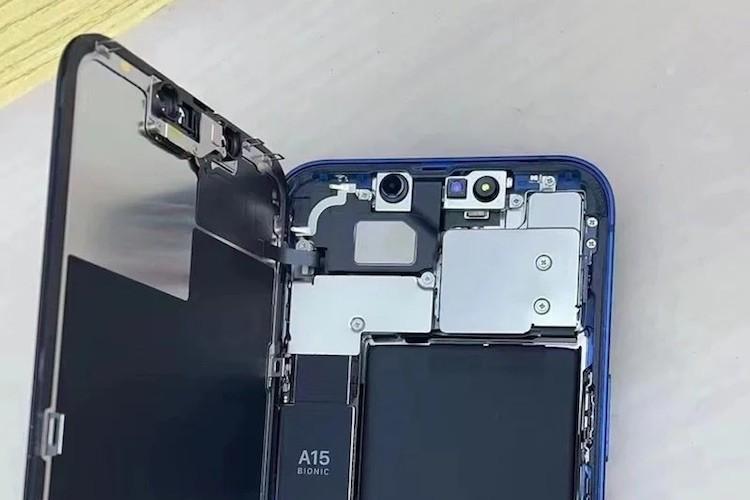 Разборка iPhone 13 подтвердила увеличенную батарею