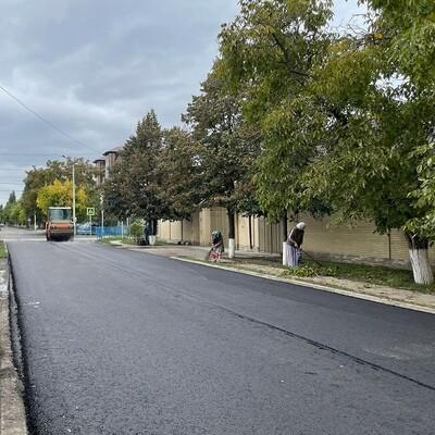 В Грозном ремонтируют улицу Кутузова