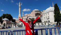 ЕС сожалеет о превращении собора Святой Софии в мечеть