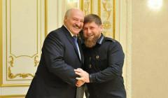 Кадыров показал фото в обнимку с Лукашенко и поздравил его