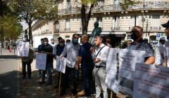 Во Франции прошла акция за освобождение арестованных в Египте уроженцев Ингушетии