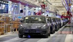 Первая партия из 7000 Tesla Model 3 китайской сборки отправилась в Европу