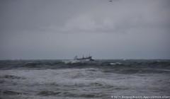 В Черном море затонул грузовой корабль с россиянами на борту