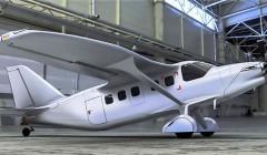 Показана сборка первого образца нового российского самолета «Байкал»
