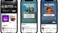Apple запустила службу платных подписок в своём приложении подкастов