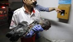 Израильская бомбардировка жилого дома в Газе вырезала многодетную палестинскую семью