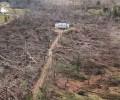 В США мощный торнадо оставил невредимым дом, оказавшийся в эпицентре стихии