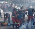 Сотни людей пострадали при столкновениях демонстрантов и силовиков в Бейруте