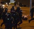 В Минске при взрыве погиб демонстрант