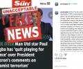 Поль Погба опроверг слухи об уходе из сборной Франции после слов президента страны