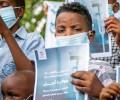 В Судане больные раком дети вышли на акцию протеста
