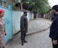 Жители одной из улиц села Алхан-Кала перекрыли соседям дорогу гравием и бордюрами