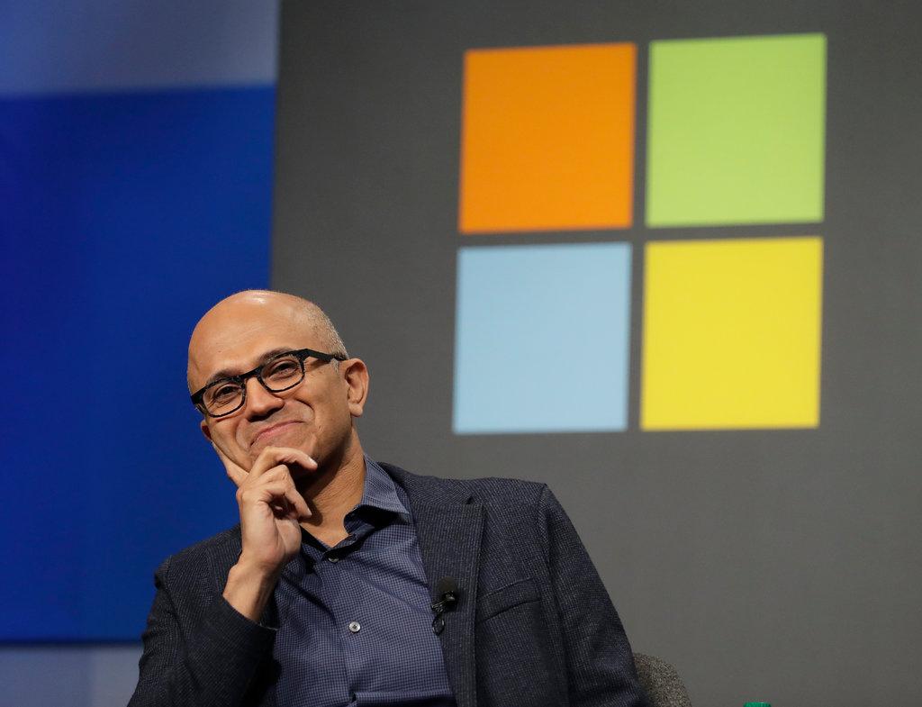 С момента вступления Сатьи Наделлы в должность исполнительного директора в 2014 году акции Microsoft выросли почти в три раза. Фото: CreditCreditTed S. Warren/Associated Press